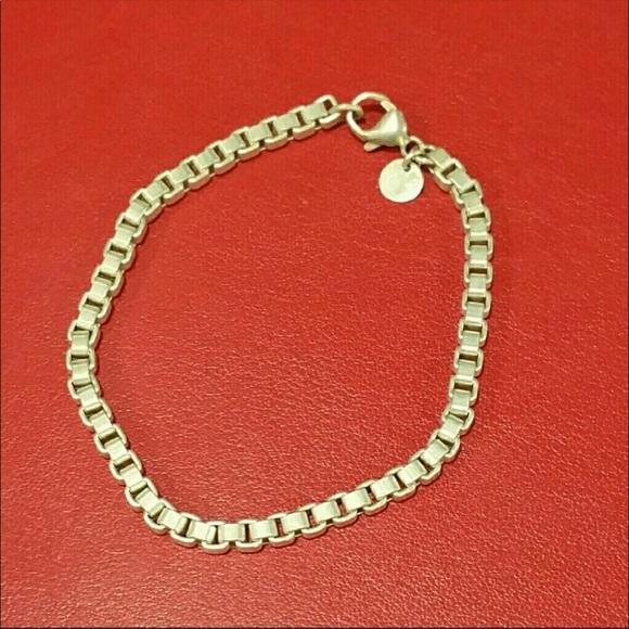 10486ab78 Tiffany & Co. Jewelry | Tiffany Co Box Chain Bracelet | Poshmark